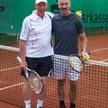 Herren 50: Wolfgang Klenner (2. Platz, TCS) – Gerhard Schütze (1. Platz, TCS)