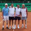 Herren 50: Wolfgang Klenner/Georg Tarpay (1. Platz, TCS) – Dieter Meinl/Walter Klante (2. Platz, TC Obernau)