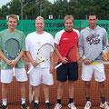 Herren: Marco Rosinus/Stefan Kraus (2. Platz, WSV) – Stefan Ostheimer/Sebastian Dürr (1. Platz, TVA)