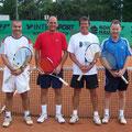 Herren 40: Bernd Zang/Stefan Sickenberger (2. Platz, TCS) – Michael Ojstersek/Stefan Sommer (1. Platz, TVA)