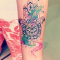 Tatouage main de Fatma