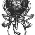 Dessin tatouage démon