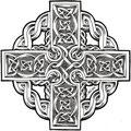 Dessin tatouage croix celtique