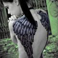 Tatouage ailes d'ange