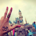 Tatouage main Mickey Disney