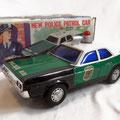 New Police Patrol Car - Masudaya - Japan -1970 (con sirena acustica)