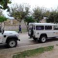 Die Jeeps in Ferran