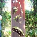 Säule der Zauberkunst im Garten
