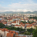 Graz seen from the Schlossberg.