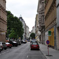 The archetypical Viennese street.