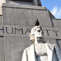 Monument north of Trafalgar Square
