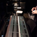 Jack checks out the lighting board