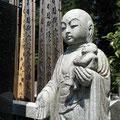 Jizo sculpture