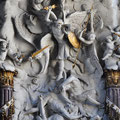 Archangel Michael doing some damage at Michaelerkirche.