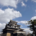 The central tower of Matsue Castle