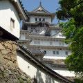Himeji Castle point-blank
