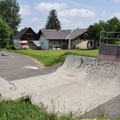 Public halfpipe in Kirchbach, a small town near Graz.