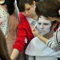 Yamano students work on Stephan