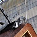 Chigi on a roof at Izumo Taisha