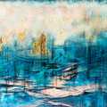 Rituale 2011  Öl auf Leinwand 200x250 cm