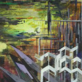 City-Wellington 2012 Acryl/LW 180x140 cm