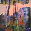 Grunewald  2012 Acryl/LW 80x60 cm