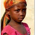 Meisje in Ghana