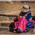 Oude dame tijdens haar middagslaapje