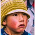 Jongeltje uit boeren dorpje