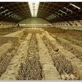 9000 soldaten, paarden, strijdwagens enz.