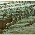 In Xi'an; Terracottaleger van keizer Qin Shi Huang