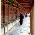 Gebedsmolens in Tibet