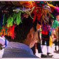 Toeschouwer bij Feest In Cuzco
