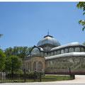 Palacio de Cristal  in het Parque del Buen Retiro Madrid (1887)