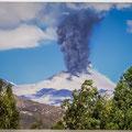 Vulkaan in actie
