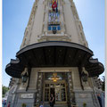Ingang van een hotel in Madrid gr. hoek. Foto met 10mm