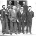 Habitants d'Arpavon en 1958