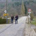 de oversteek naar Duitsland