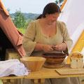 Elisa führte Regie über unsere Feldküche...