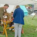 Überraschend viele Besucher interessierten sich heuer für die handwerkliche Seite...