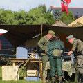 Die Wehrmachtsdarsteller hatten ein unglaubliches Fachwissen...