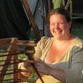 Elisa strahlt mit der Sonne um die Wette...