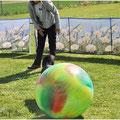 """..und den Ball zu Frauli ins Tor """"pushen"""""""