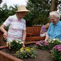 Da macht das Gärtnern Spass