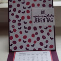 Easle-Card-Kalender mit Stampin´Up!