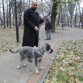 ALEKSANDR IMPERATOR (Grayson) with Marinos, Moscow, 04/11/15