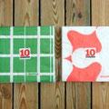 この「10」のマークは袋に付いているシールです