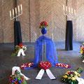 Urnendekoration bei Holert Bestattungen in Hamburg, Feuerbestattung