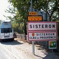 Noch schnell nach Sisteron