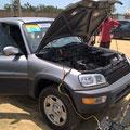 Ebenfalls neu gekauft! Unser neuer Toyota als zusätzliches Transportmittel unserer Gesundheitsstation.
